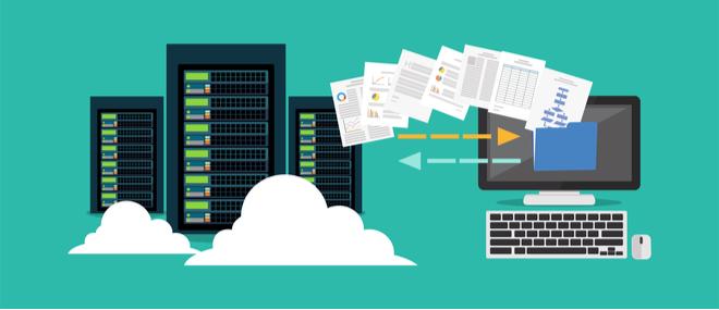 Migration backup concept image