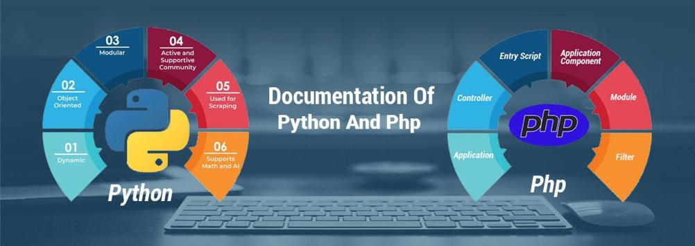 Documentation of Python & Php