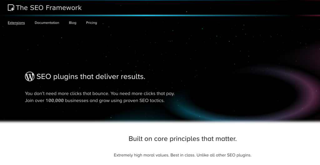 The SEO Framework Plugin