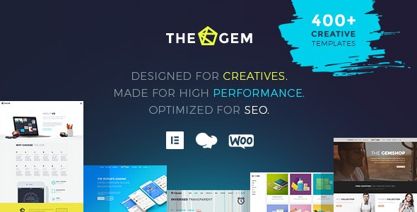 Gem WordPress Theme