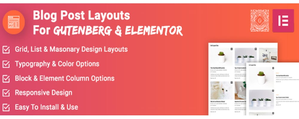 WP Blog layout