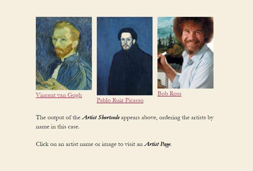 art gallery plugin