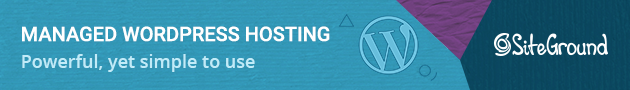 siteground wordpress managed hosting banner