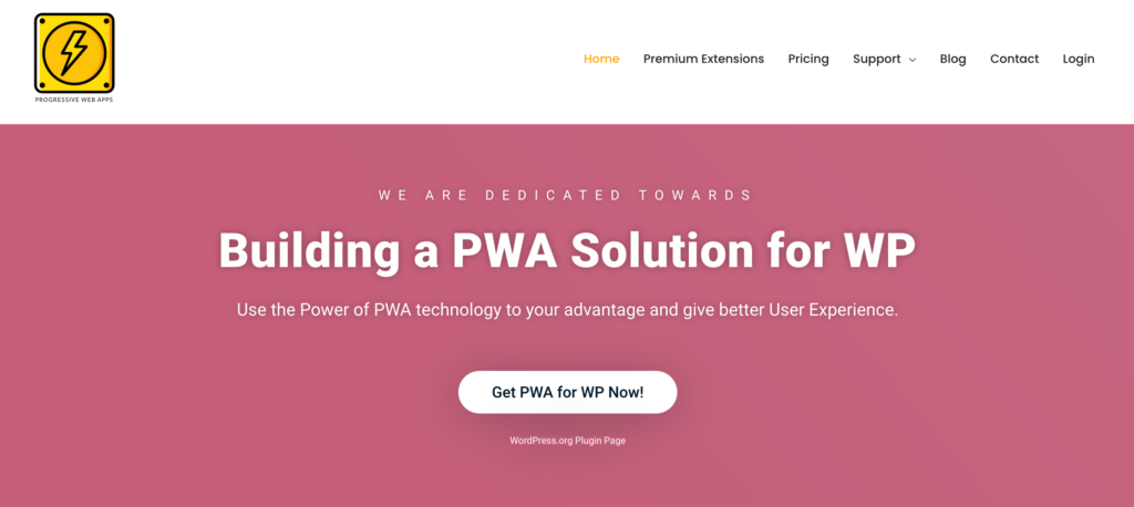 pwa for wordpress