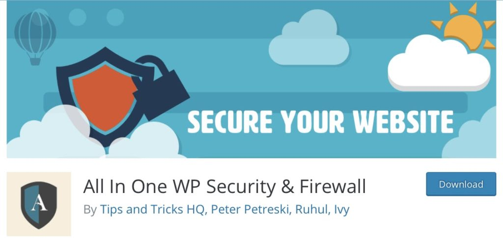 all in one wp security