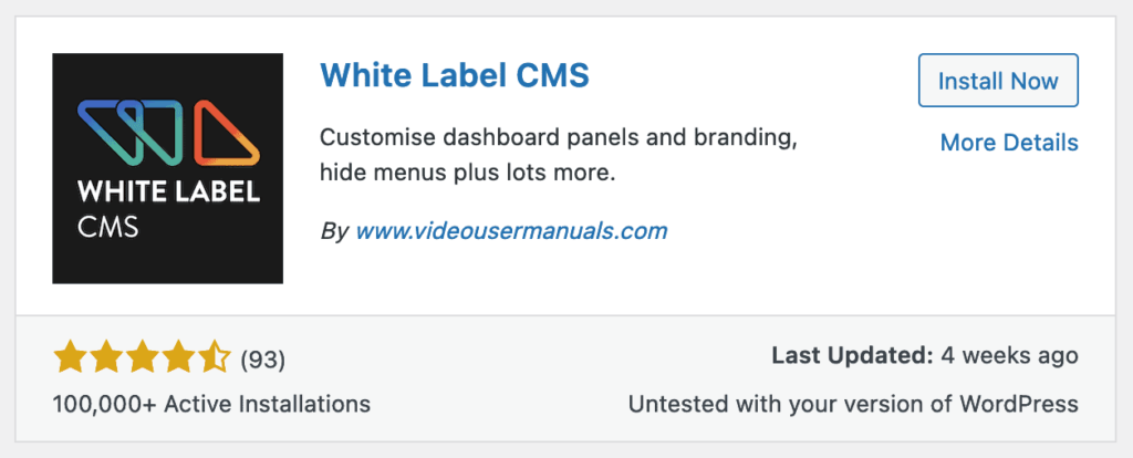 white label cms plugin