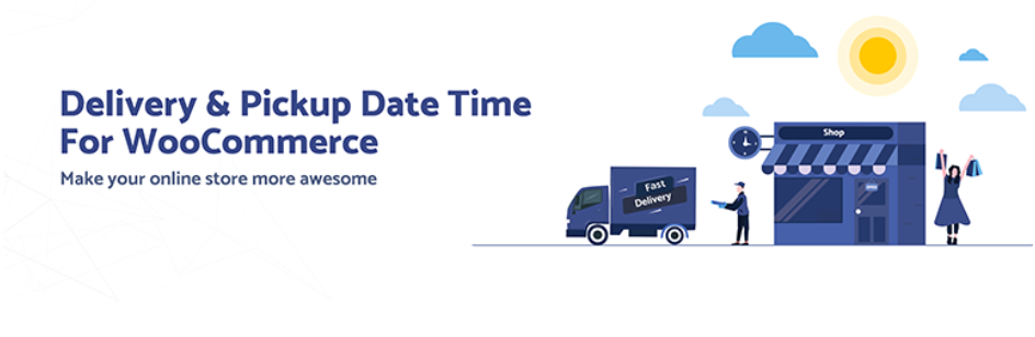 delivery pick up time woocommerce