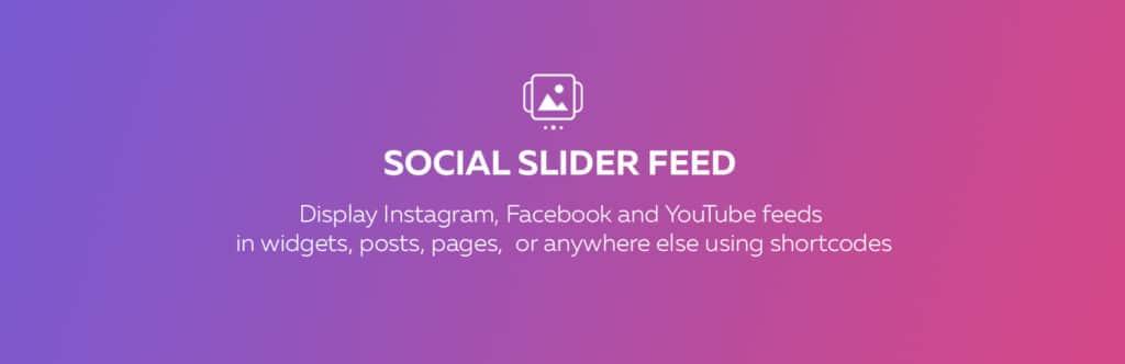 social slider feed
